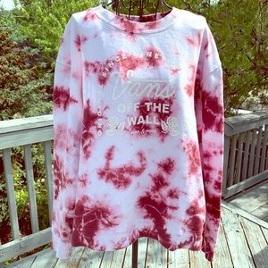 Authentic Vans Off the Wall Tue Dye Pullover, Med